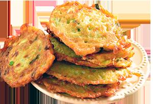 Оладьи картофельные (драники)
